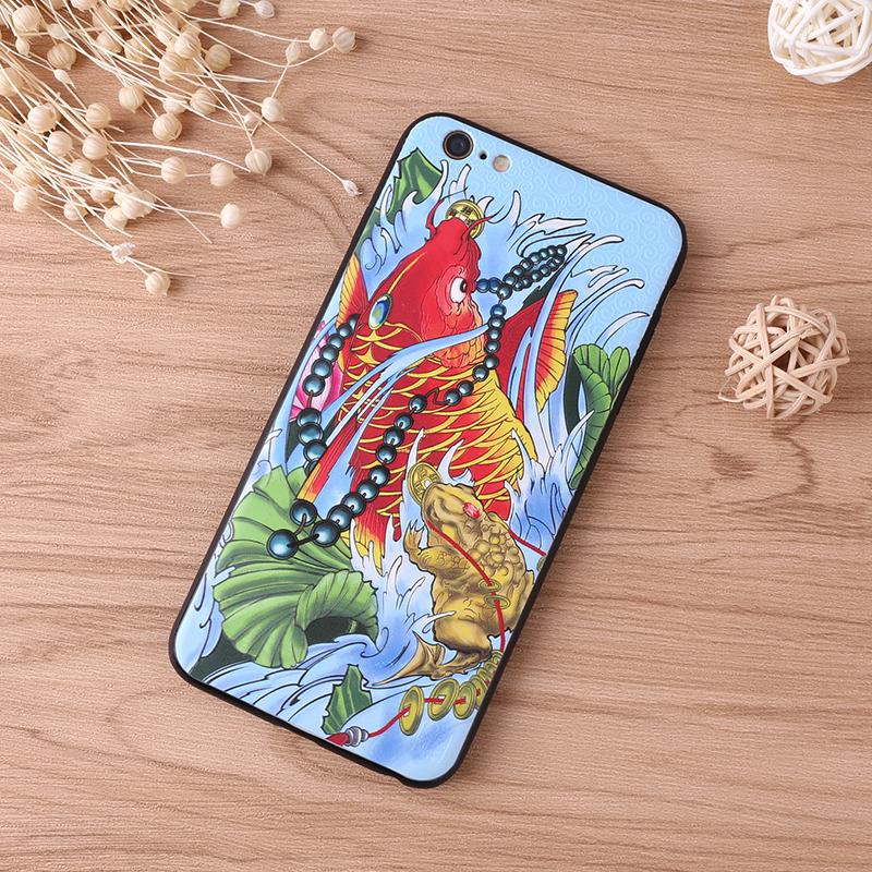手机壳-锦鲤