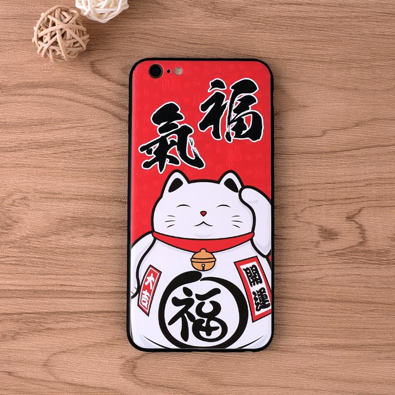 手机壳-招财猫
