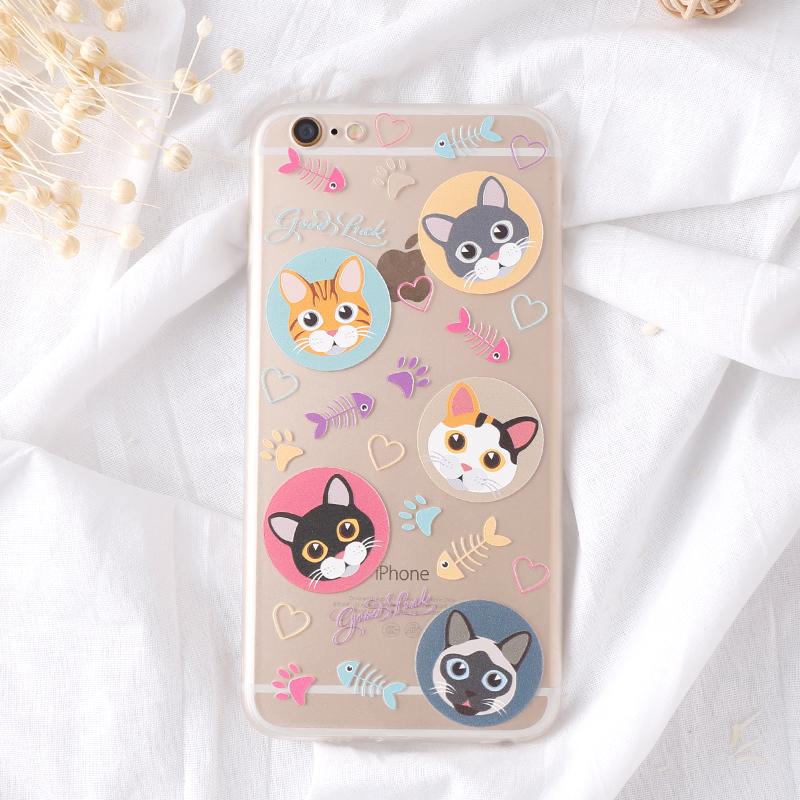 手機殼-C透明猫壳