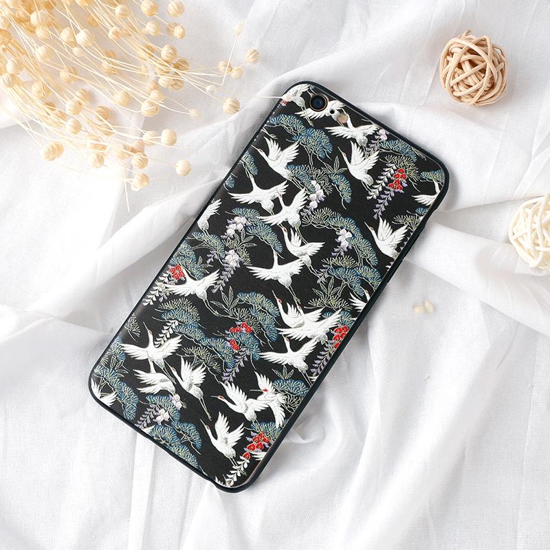 手機殼-模糊鹤