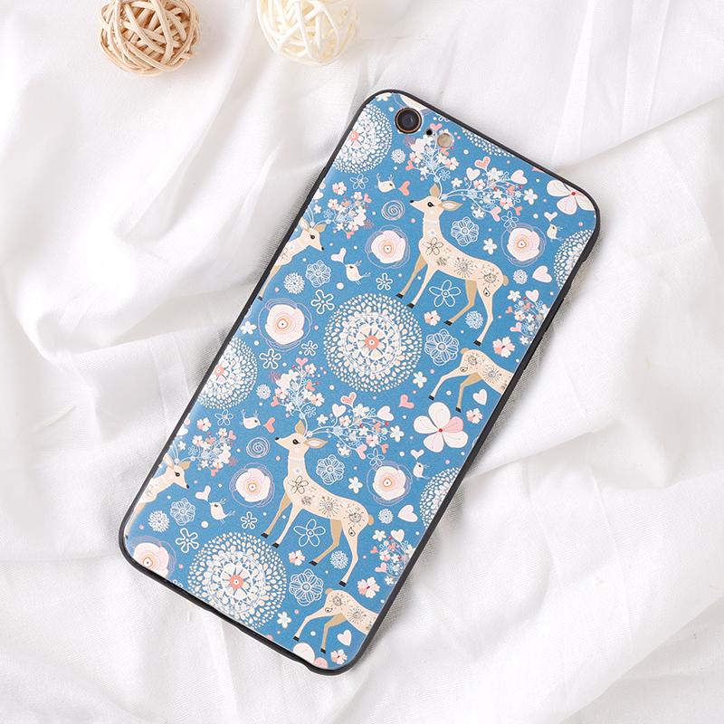 手機殼-碎花鹿