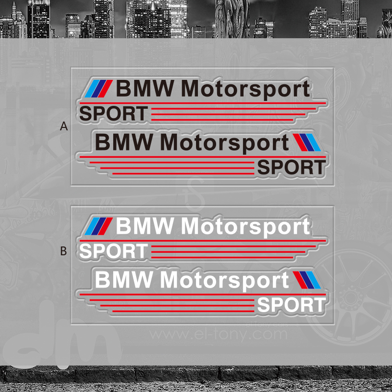 BMW sport后视镜