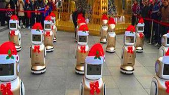家用机器人案例-宝安机场