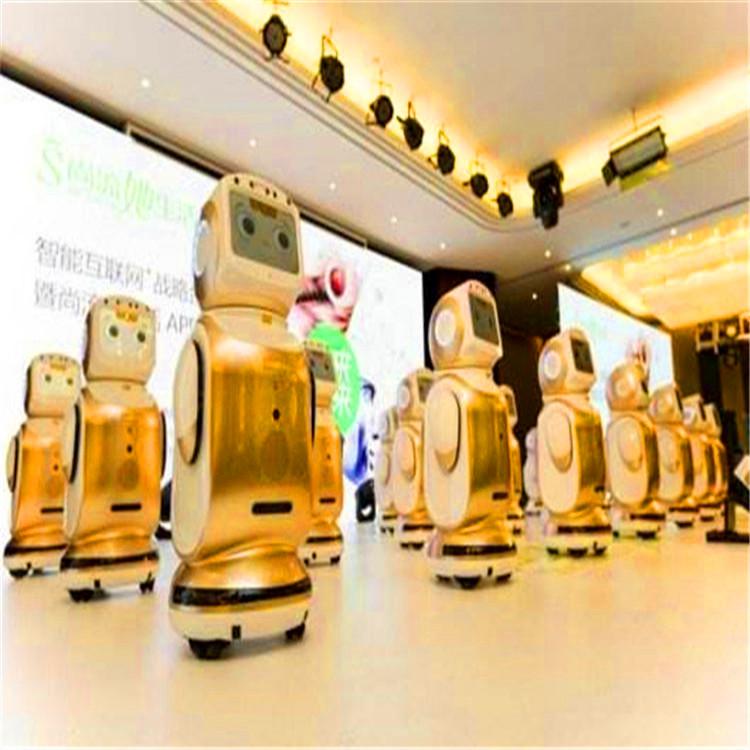 小宝机器人案例-深圳宝安展厅