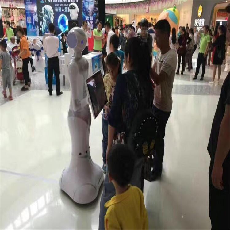 服务机器人案例-会场营销
