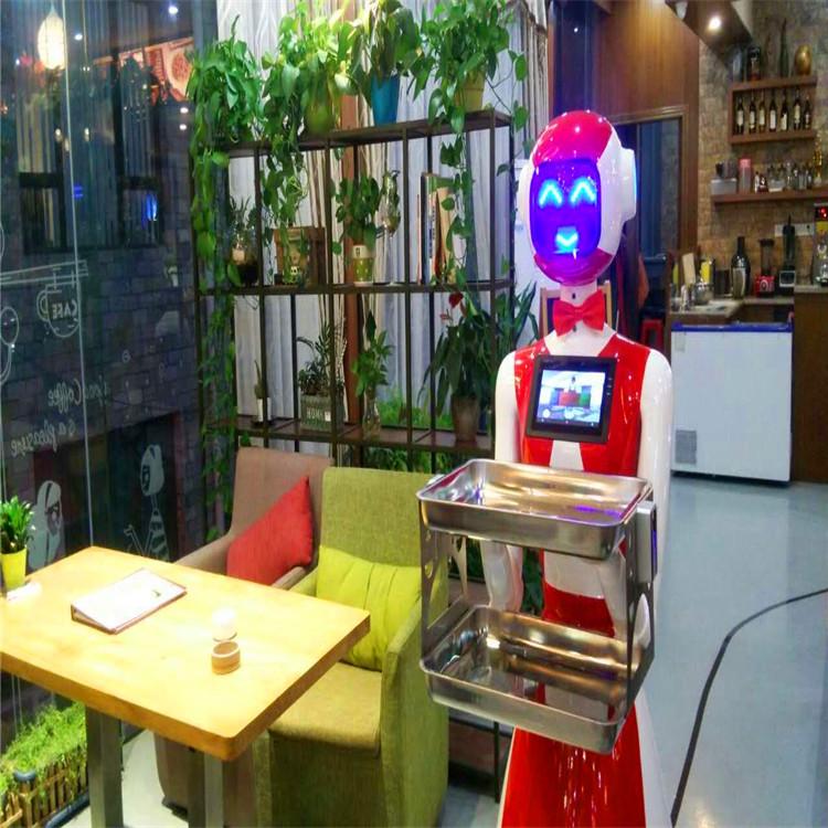 送餐机器人案例-智能主题餐厅