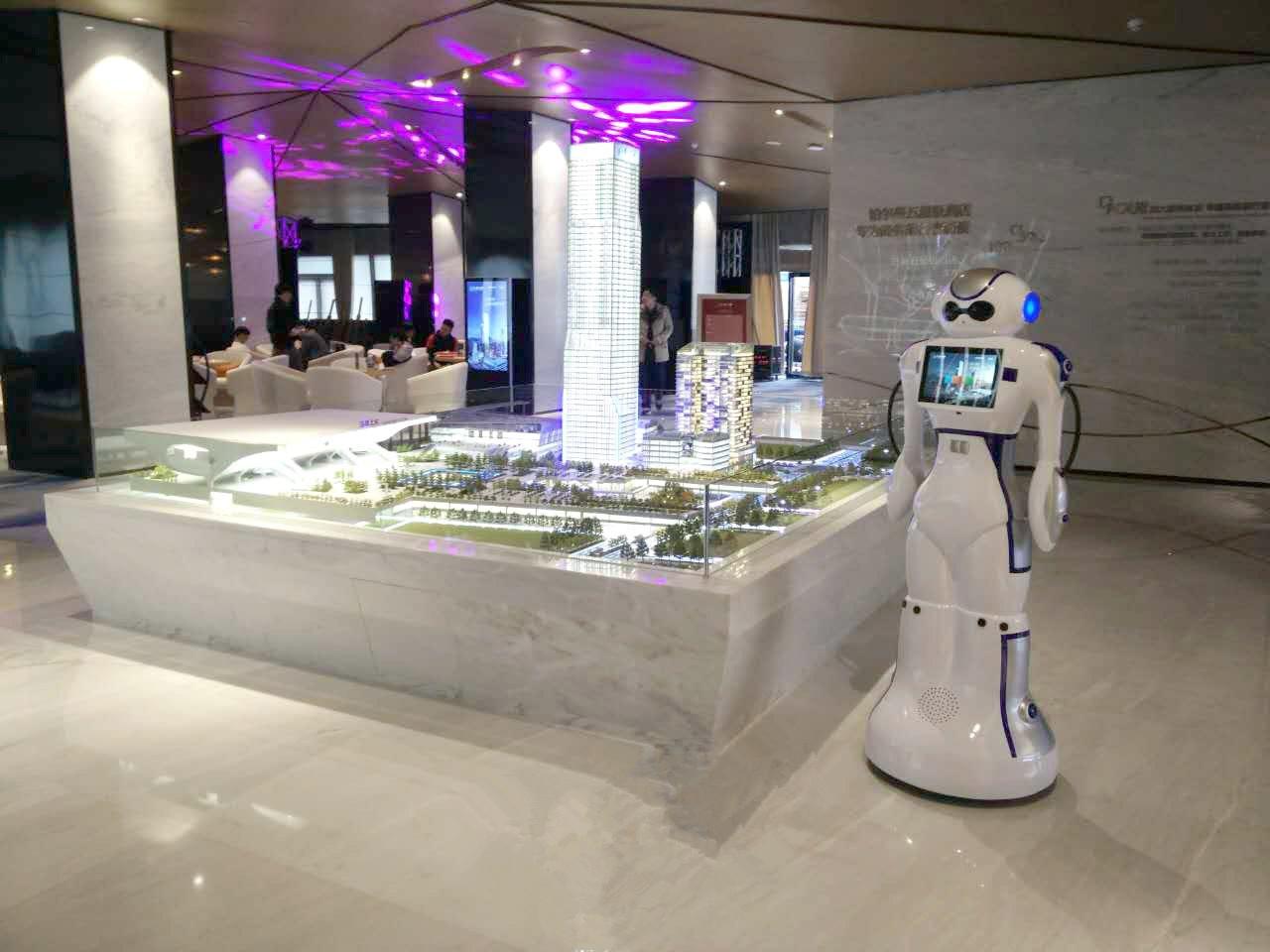 大白机器人案例-深圳北站枢纽综合体