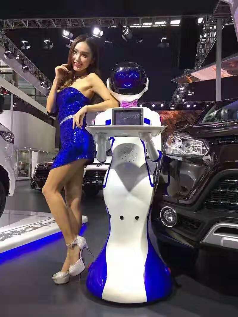汽车4S店送餐机器人案例