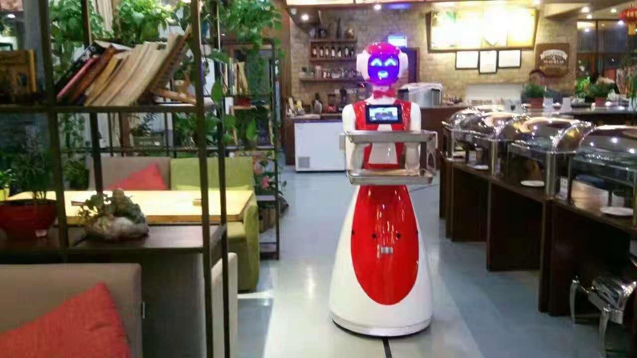 顺德餐厅欢欢机器人案例