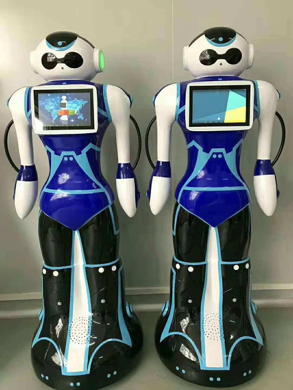 定制版迪拜警察机器人