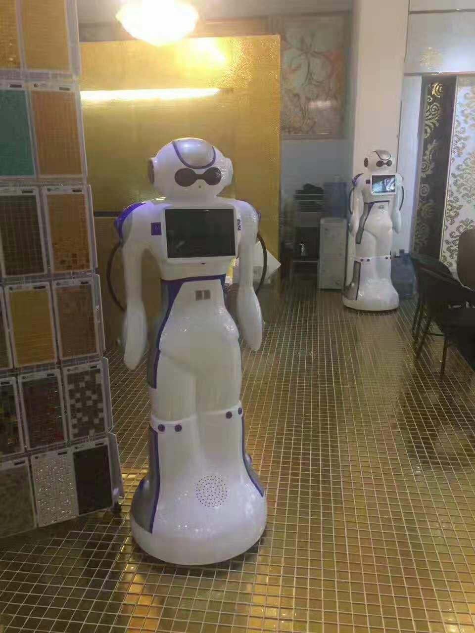 大白机器人佛山陶瓷接待处案例