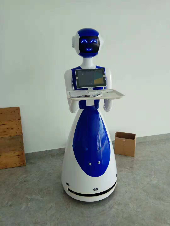 汕头送餐机器人案例