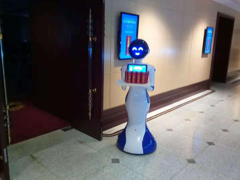 王老吉送餐机器人案例