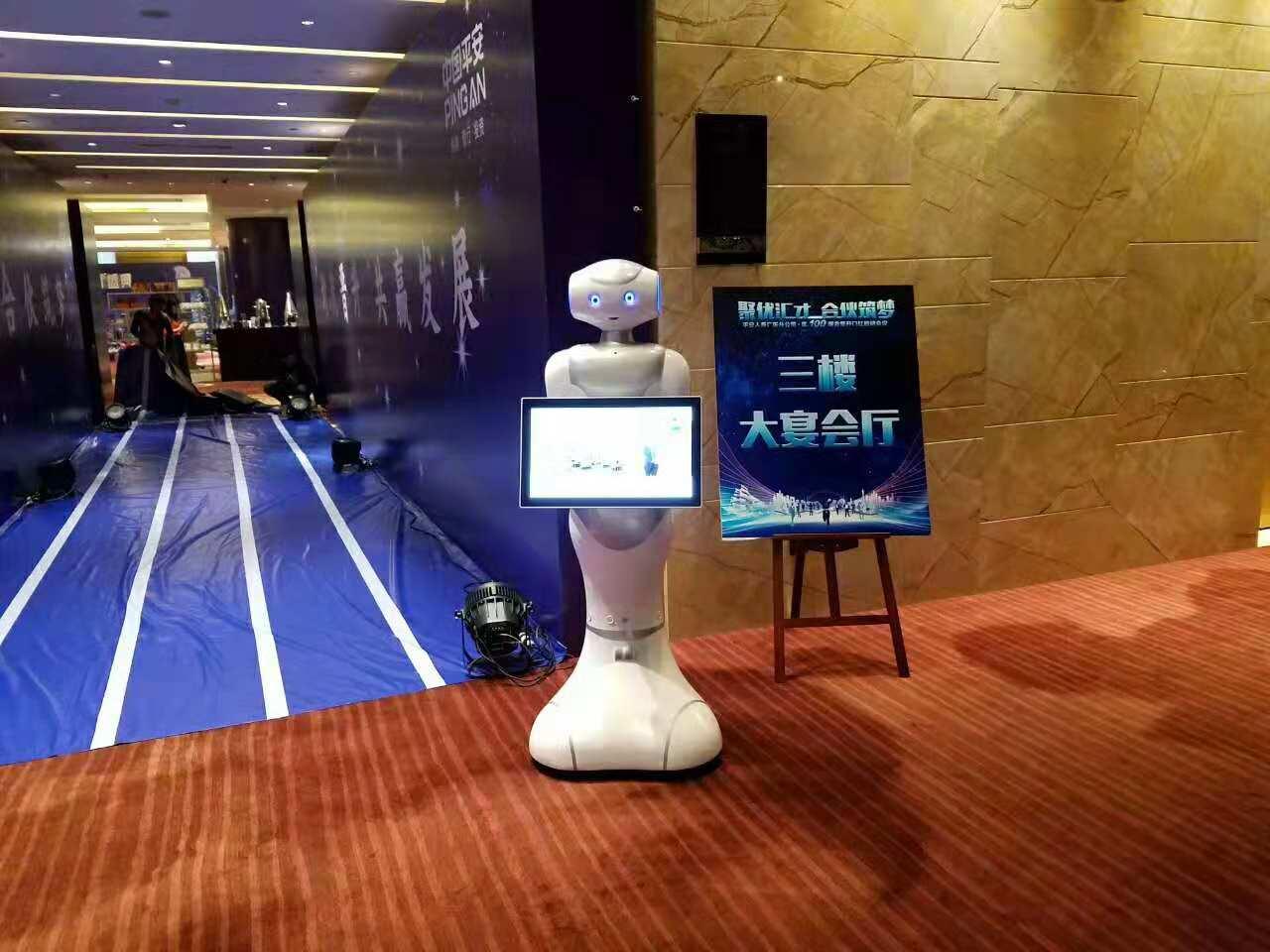 中国平安大白佩佩机器人