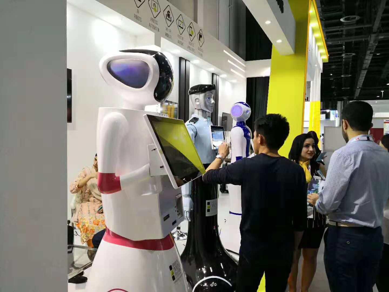 迪拜机器人参展