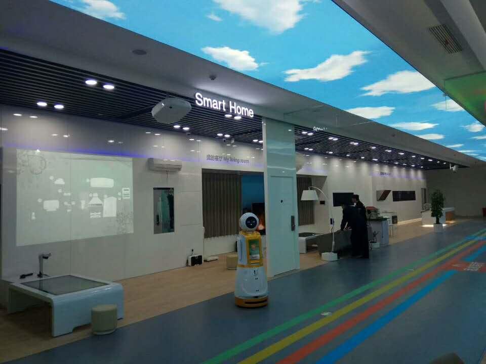 杭州云智星科技与中国电信合作搭建物联网+人工智能展厅