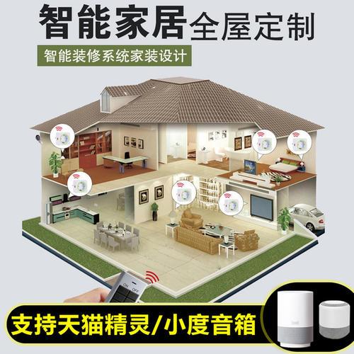 325㎡现代平层别墅智能化设计,演绎闲适与优雅的生活方式!-别墅智能化方案