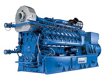 曼海姆燃气发电机组