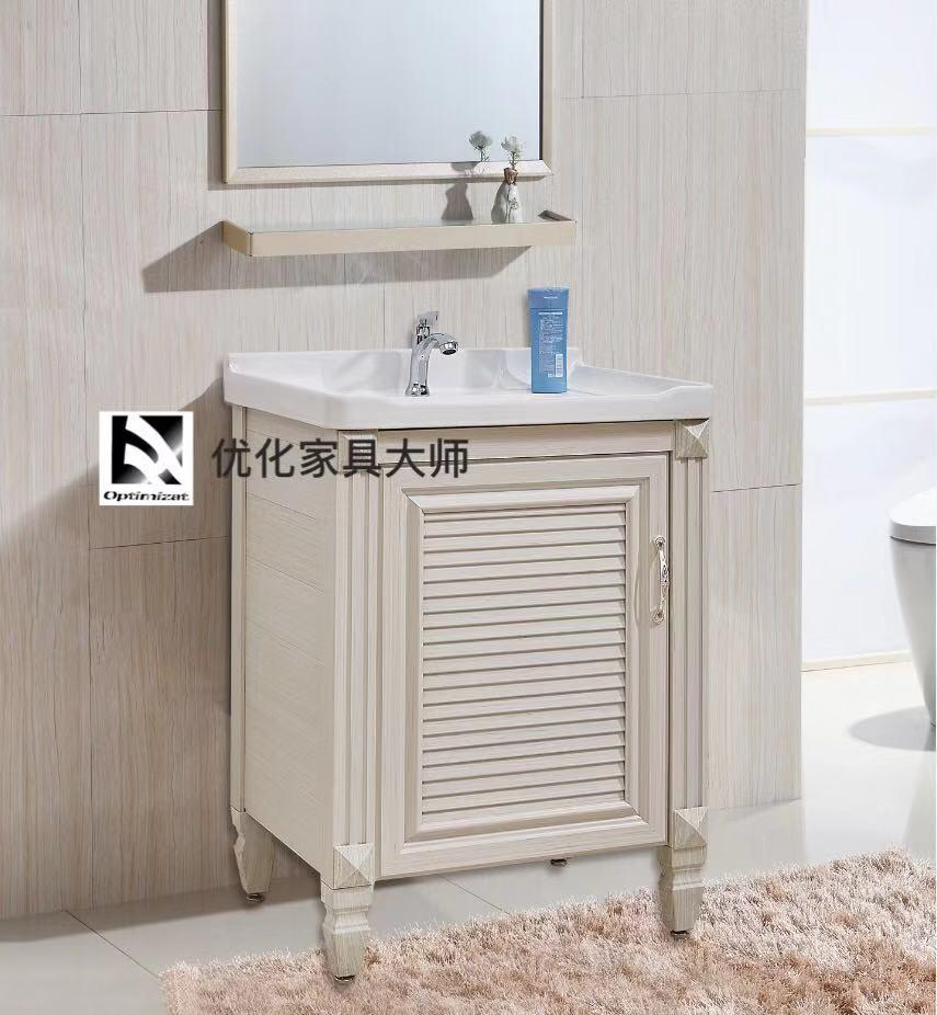 欧式风格简约现代浴室柜组合