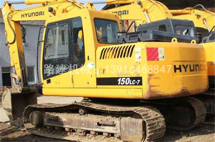 二手现代150挖机