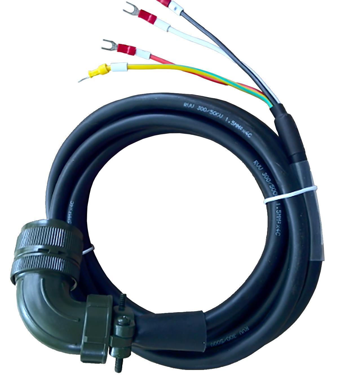 伺服驱动系统动力电缆