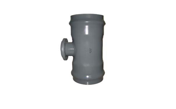 pvc焊接件承插式法兰三通