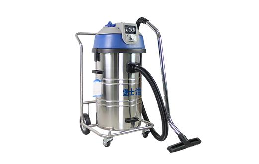 大功率工业吸尘器_单相电_干湿两用型