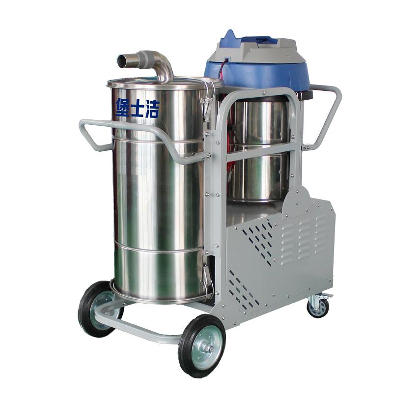 纺织厂专用吸尘器_电瓶式_100L