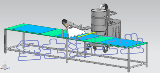 堡士洁工业吸尘器