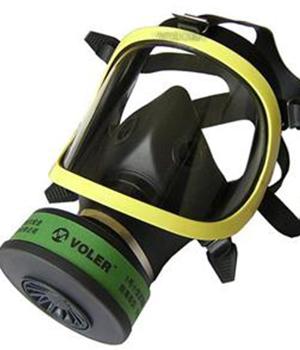 防毒面具逃生器材2