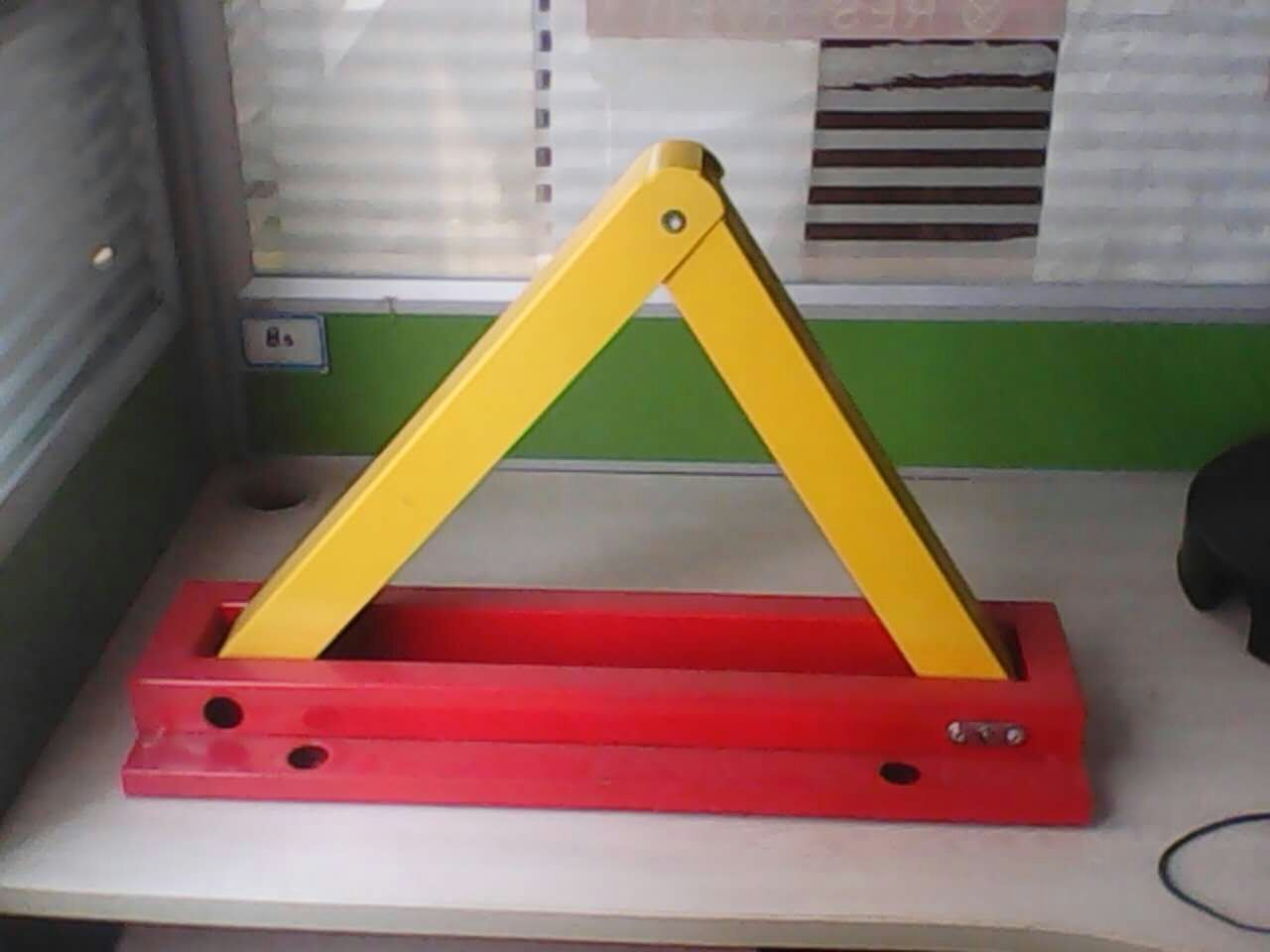 三角形车位锁