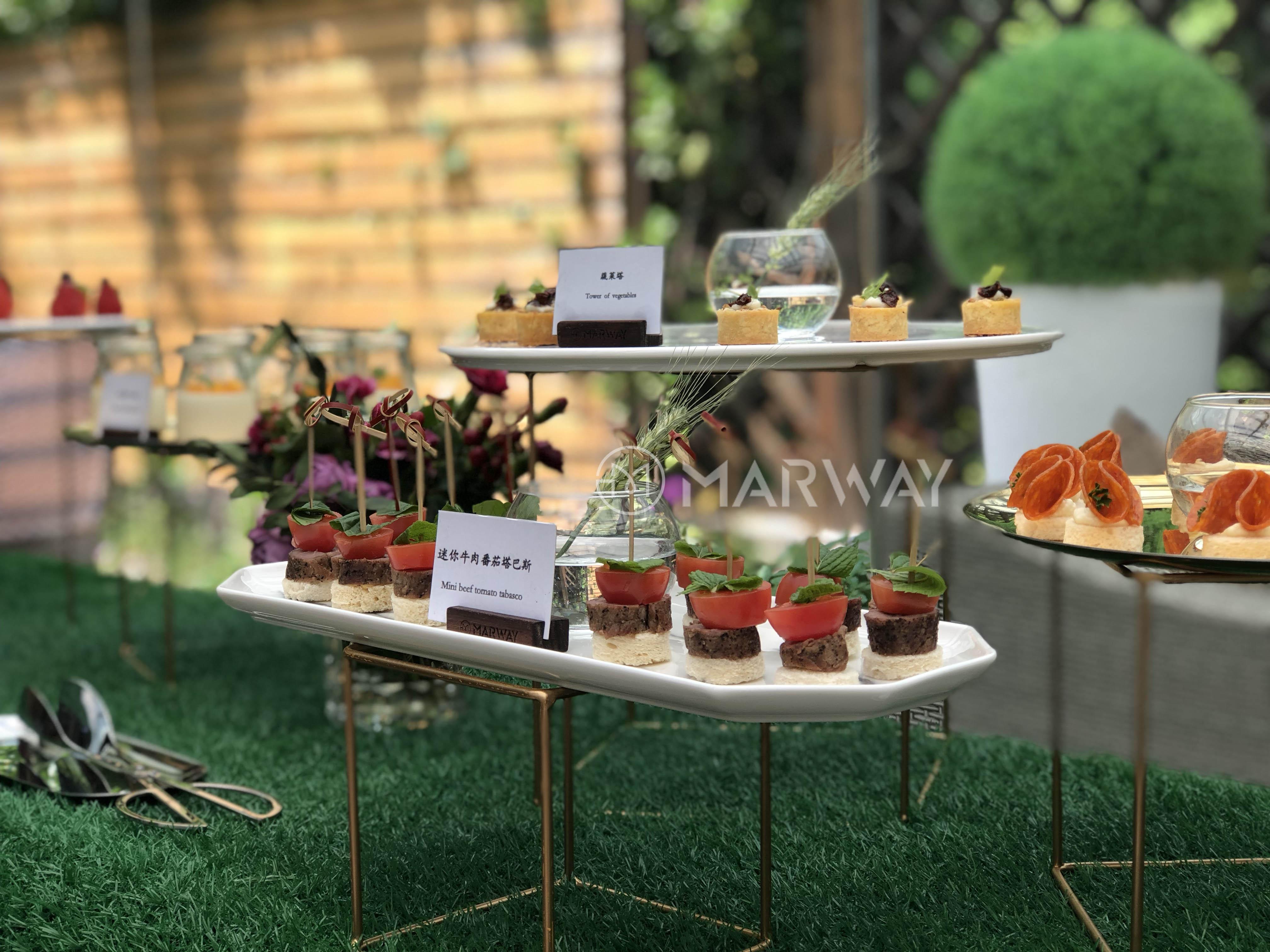 都市里优美花园客户交流盛宴