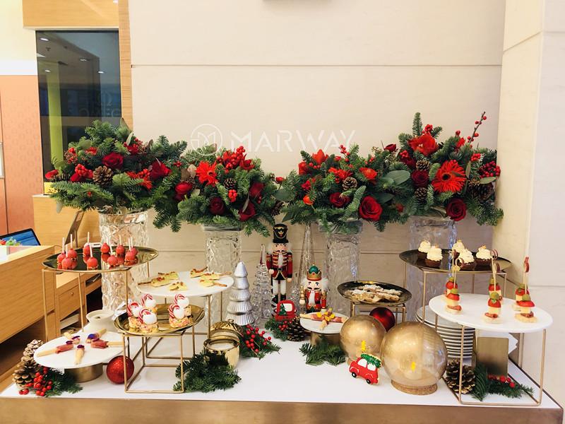 欧米茄品牌圣诞节茶歇