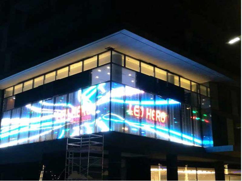 透明LED顯示屏|LED透明屏