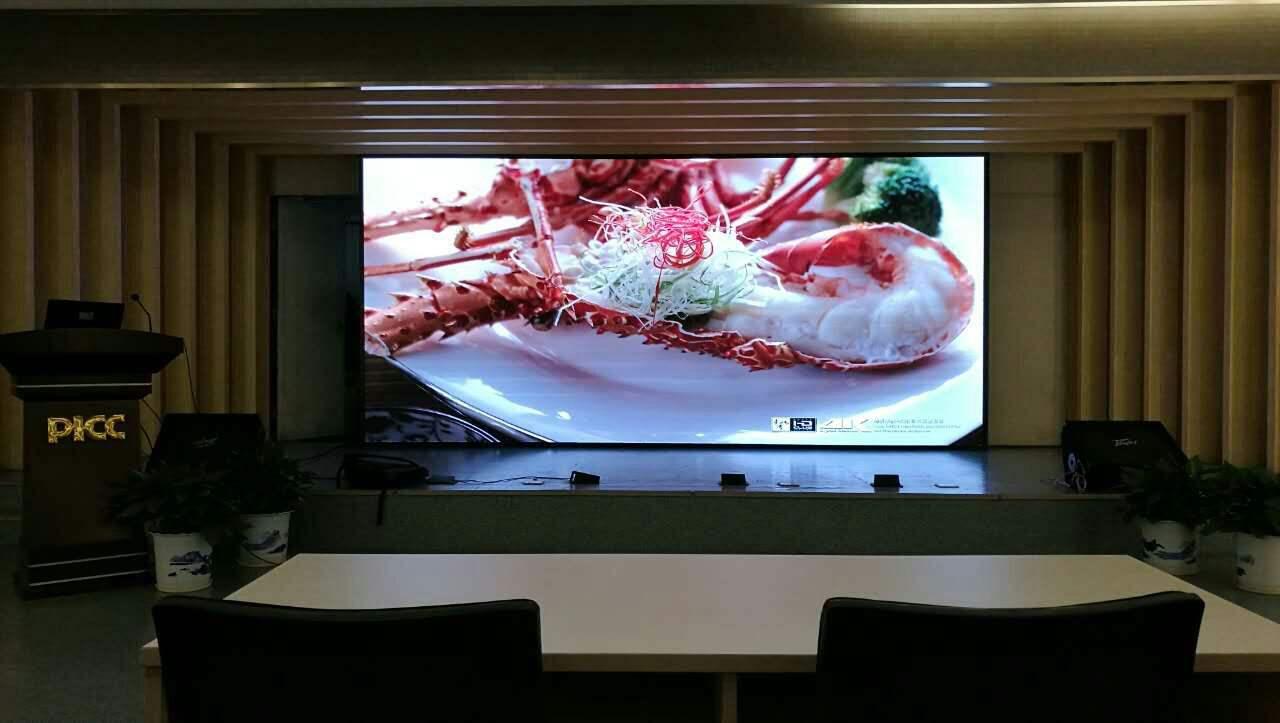 环亚ag8801/D2室內全彩LED顯示屏