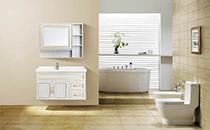 All aluminum bathroom cabinet
