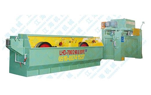 LHD-650/2模黄铜巨模拉丝机组