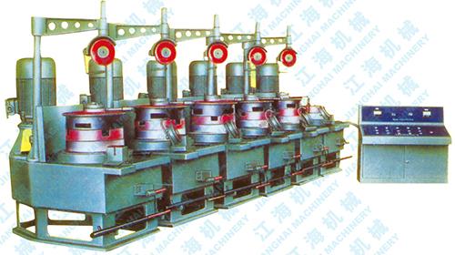 LW560-6型立式连续拉丝机