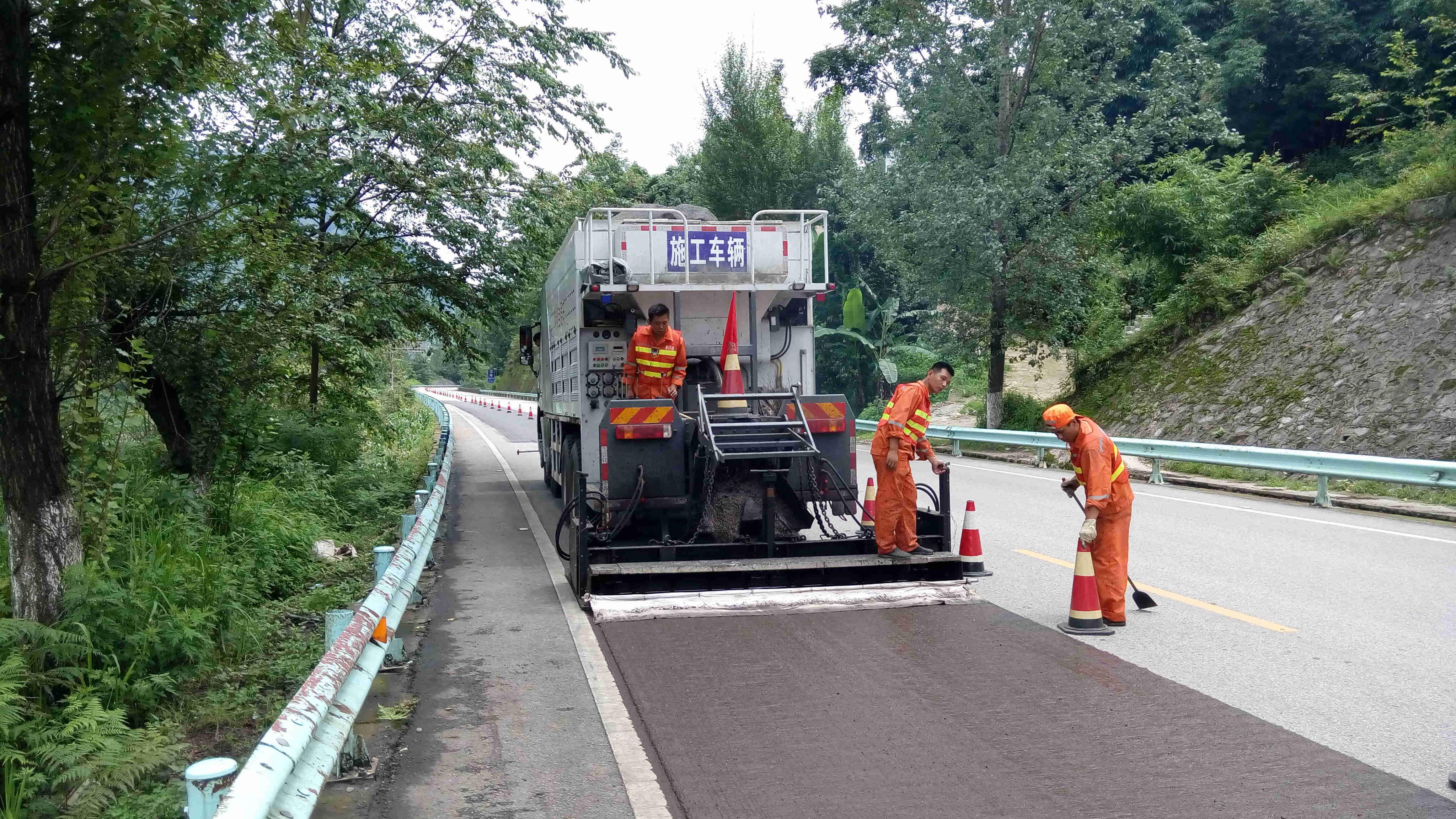 沥青路面施工介绍