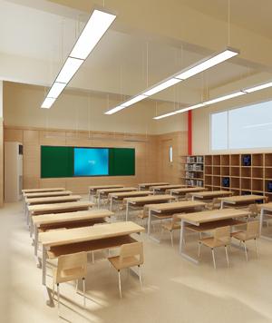 金蘋果小學室內裝飾
