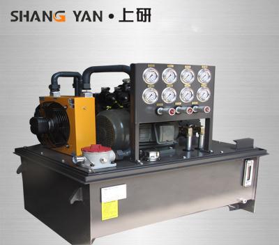 数控双主轴车削机液压系统