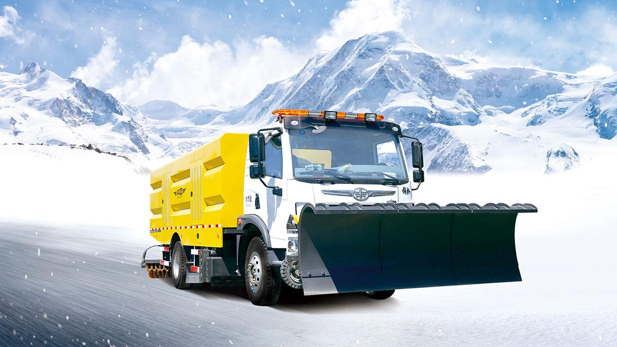 智能破冰除雪车