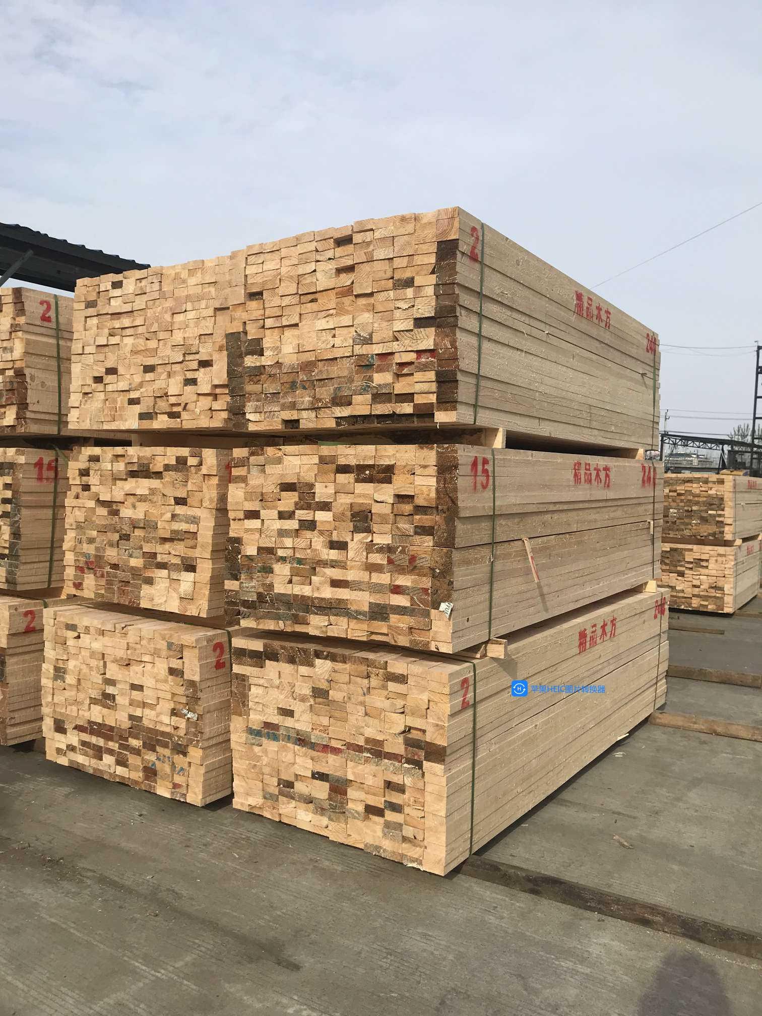 武漢木材批發市場發咸寧嘉魚房建工程方木
