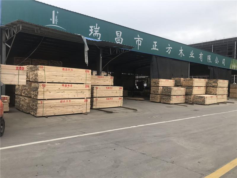 武漢模板木方廠家為什么定制建筑木材?