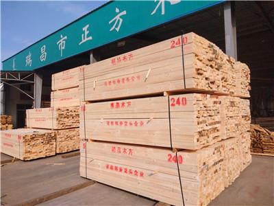 江西辐射松建筑木方价格的调控受哪些因素影响呢?