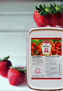维益缤纷草莓果泥