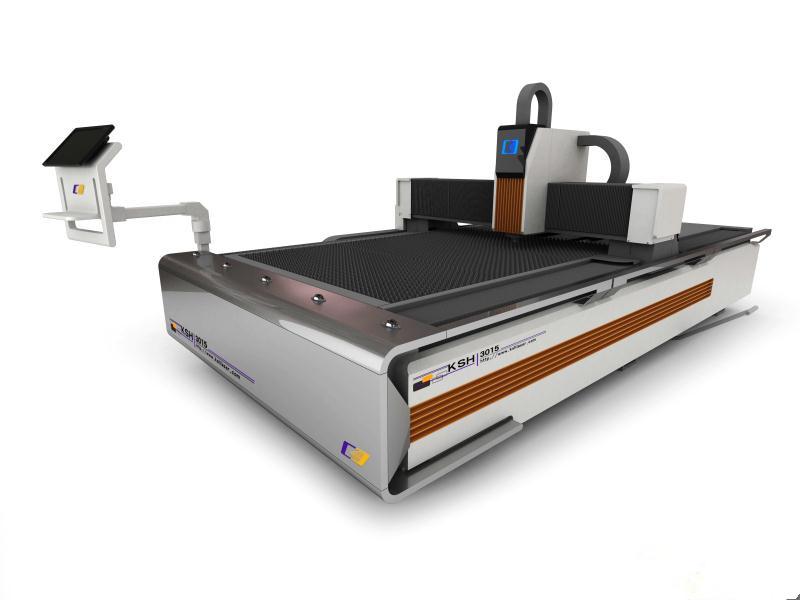 单台面光纤激光切割机