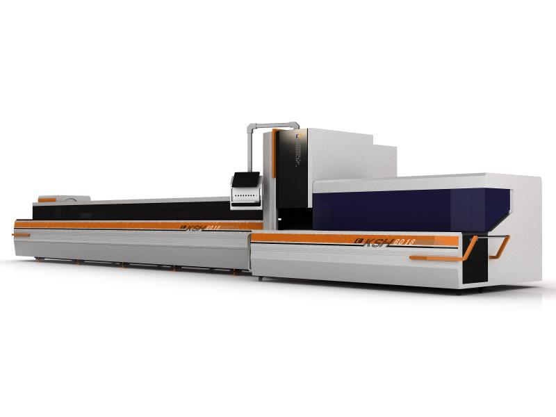 500W管材激光切割机KSH-6016T