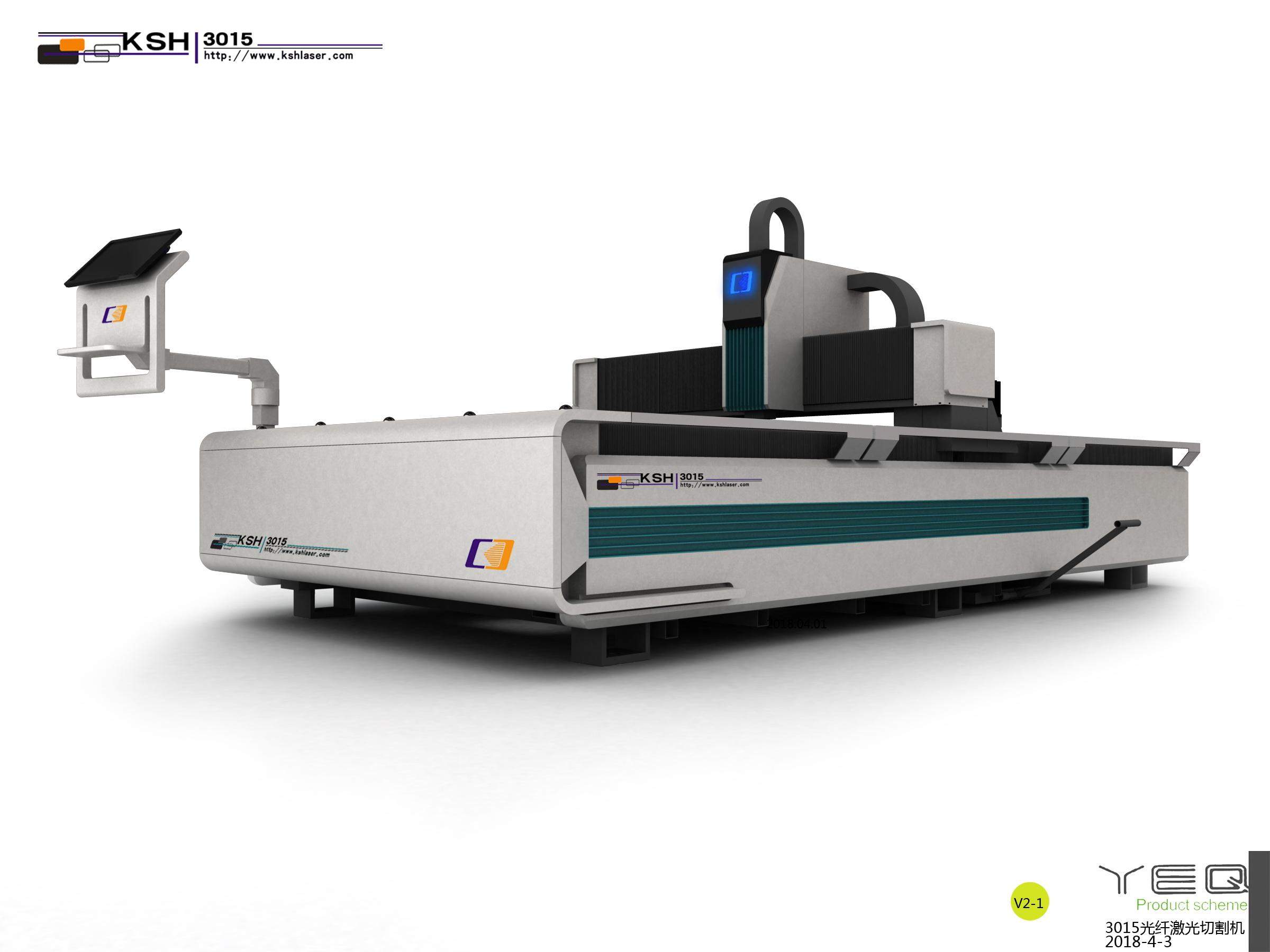 开放式光纤激光切割机1000W