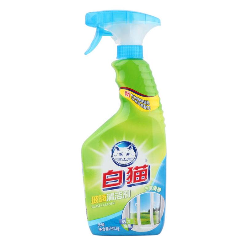 白猫玻璃清洁剂
